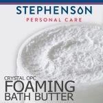 Melt & Pour szappanalap Crystal OPC Habszappan alap (Crystal OPC Foaming Bath Butter)