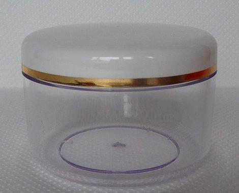 Kozmetikai tégely SAN víztiszta 150ml