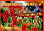 Ajándékutalvány 10.000,-Ft