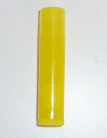 Ajakírtok (tubus) sárga, átlátszó