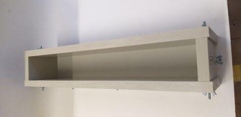 Szappanöntő forma Láda PP típus 6cm széles x 9cm magas x 40cm hosszú