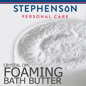 Melt & Pour szappanalap Stephenson OPC Habszappan alap (Crystal OPC Foaming Bath Butter)