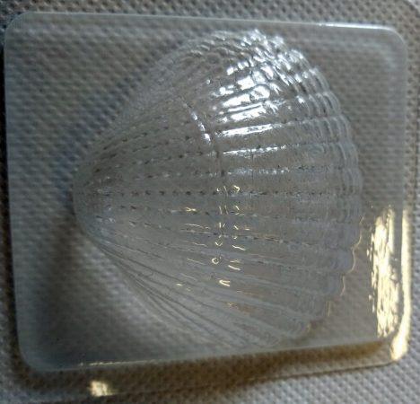 M&P szappanöntő forma Shell kagyló