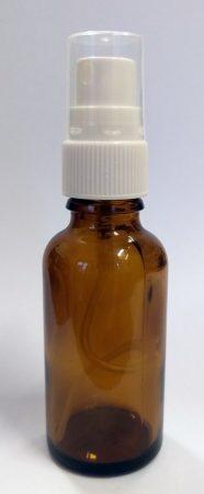 Szórófejes pumpás (spray) patikai üveg 10ml
