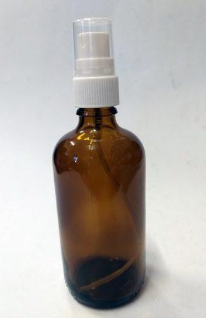 Gyógyszertári alkohol 96% (Etanol 96%) 100ml SZÓRÓFEJJEL (fertőtlenítéshez)