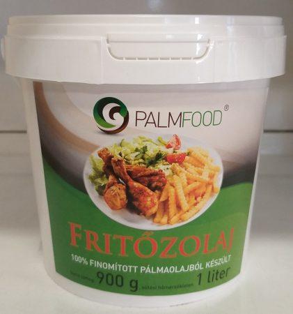 Pálmaolaj (pálmazsír) fritőzolaj nem hidrogénezett 1l (Palmfood)