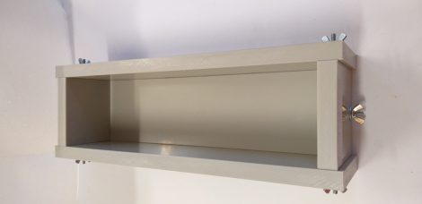 Szappanöntő forma Láda PP típus 7cm széles x 7cm magas x 30cm hosszú