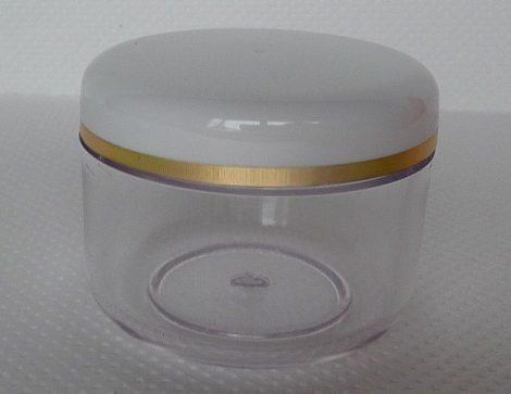 Kozmetikai tégely SAN víztiszta 50ml