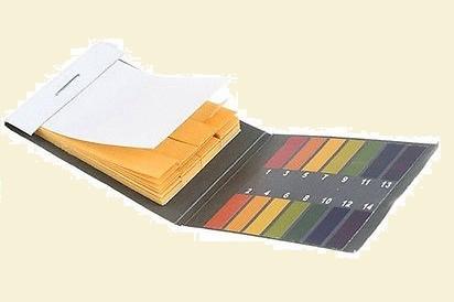 Lakmuszpapír PH mérő papír 80 db lapka
