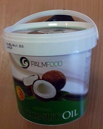 Kókuszolaj (kókuszzsír) nem hidrogénezett Vödrös 1l (Palmfood)