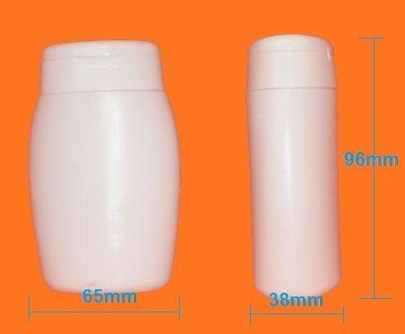 Kozmetikai flakon ovális 100ml