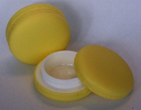 Ajakír tégely macaron sárga