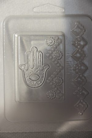 M&P szappanöntő forma indiai kéz