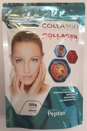 COLLANGO kollagén por natúr ízű, 330 g