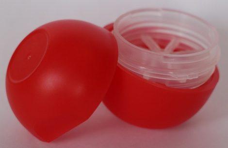 Ajakírtok (tubus) golyó piros