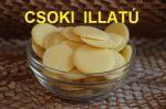 Kakaóvaj  finomítatlan illatos pasztilla 1kg