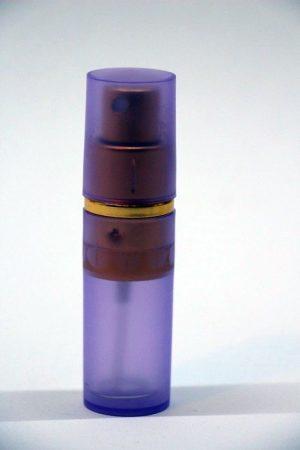 Parfümadagoló szórófejjel lila 10ml