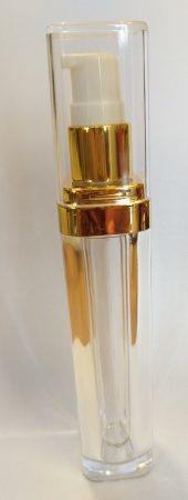 Krémes pumpás arany műanyag 50ml