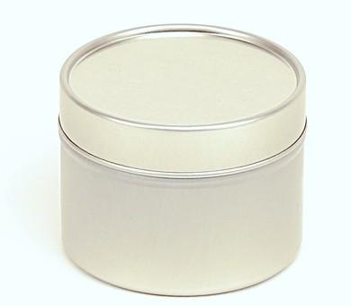 Alumínium tégely 100ml (ezüst)
