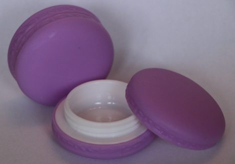 Ajakír tégely macaron lila
