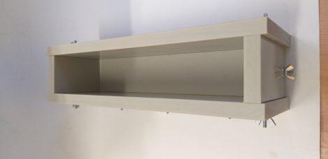 Szappanöntő forma Láda PP típus 6cm széles x 9cm magas x 30cm hosszú