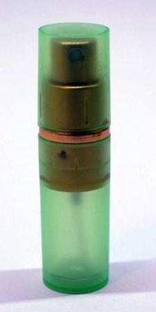 Parfümadagoló szórófejjel zöld 10ml
