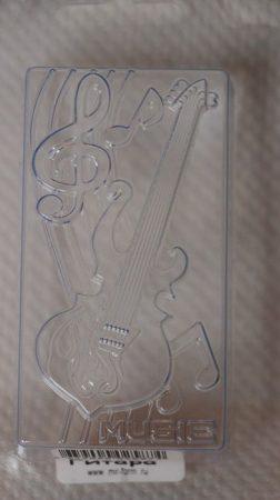 M&P szappanöntő forma gitár